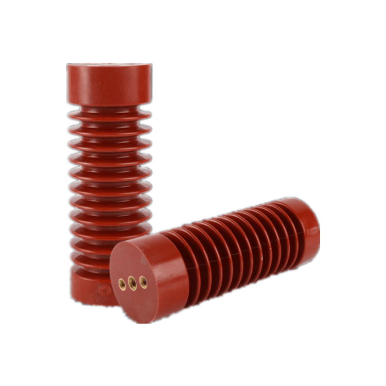 Aisladores de poste de línea de porcelana estándar ANSI para alto voltaje