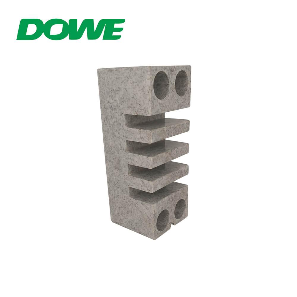 Abrazadera de barra colectora BMC, aisladores de barra colectora, tablero eléctrico de mármol, bajo voltaje, blanco, gris, CE ROHS EL-155 12N / M 660v DOWE