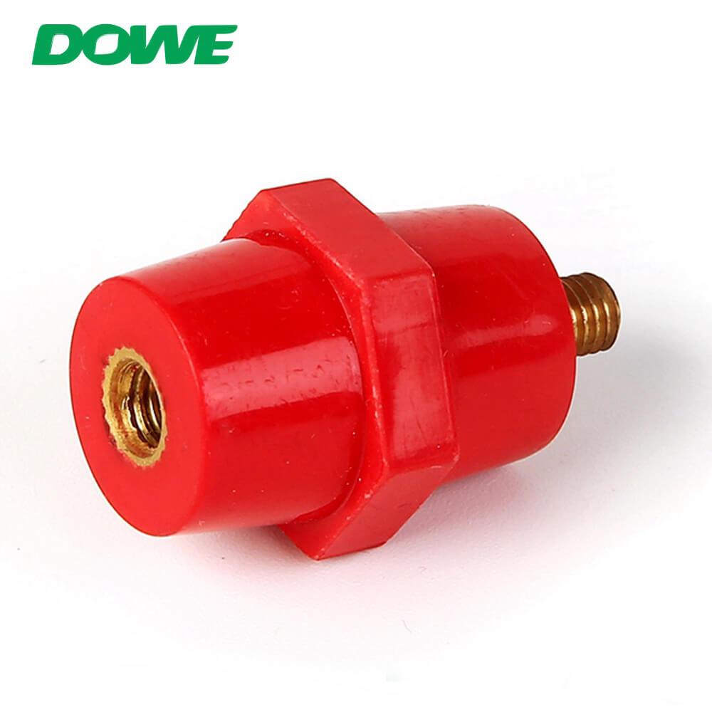 Tipo de aisladores del separador de bajo voltaje del aislador de Epoxi del tenedor de la barra de distribución SEP2519 modificado para requisitos particulares