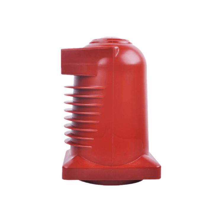 YUEQING DOWE Caja de contactos de resina epoxi roja para interiores CH3-24Q 225 de alto voltaje para celdas de 24 kv