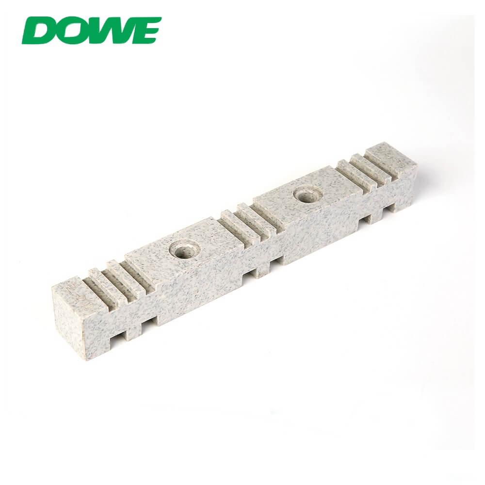 YUEQING DOWE Precio de fábrica Blanco DMC SMC EL-270 Abrazadera de aislamiento de soporte de barra colectora