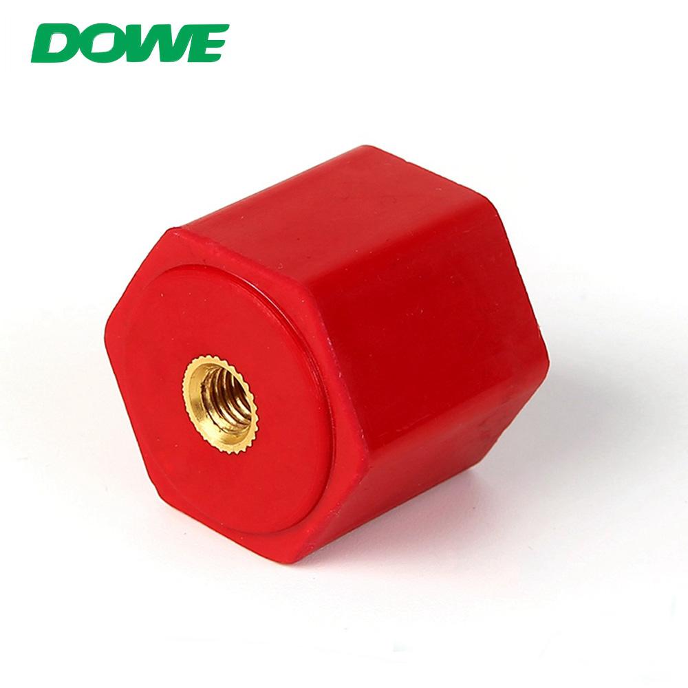 Aislador de barra de distribución hexagonal de barra de coche de material eléctrico DOWE EN25 DMC BMC