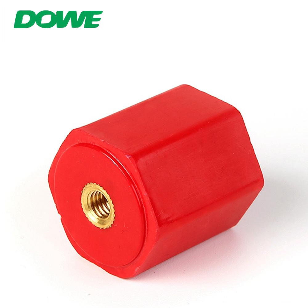 Aisladores de bajo voltaje de la serie DOWE EN m8 BMC, SMC Aislador de separación de poste de buje eléctrico