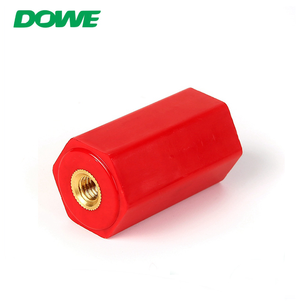 Aislador de poste de barra colectora de tornillo de latón DOWE EN40 para transformador seco