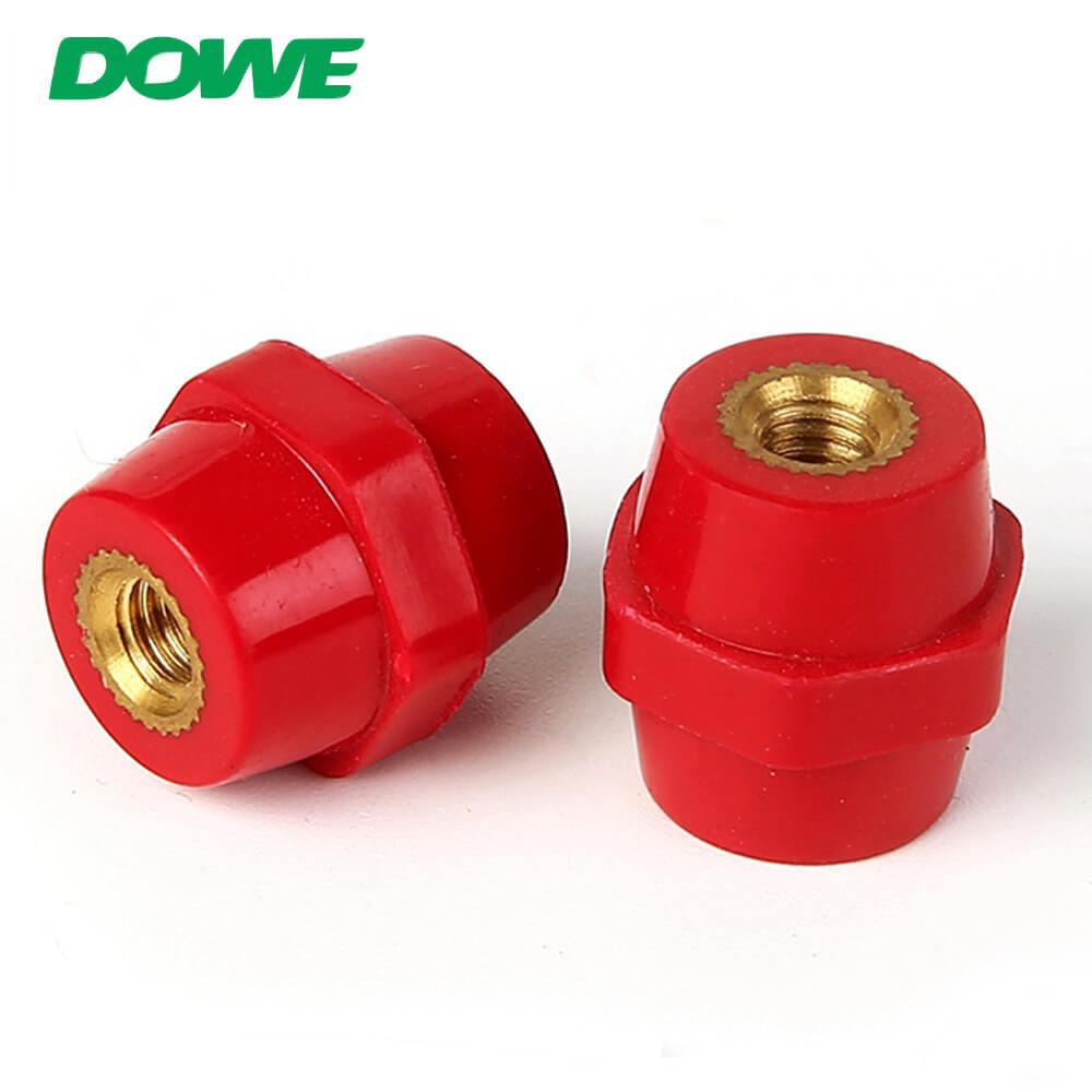 Aislador eléctrico pequeño SEP2019 DMC Aislador hexagonal de soporte de separador de bajo voltaje personalizado con color