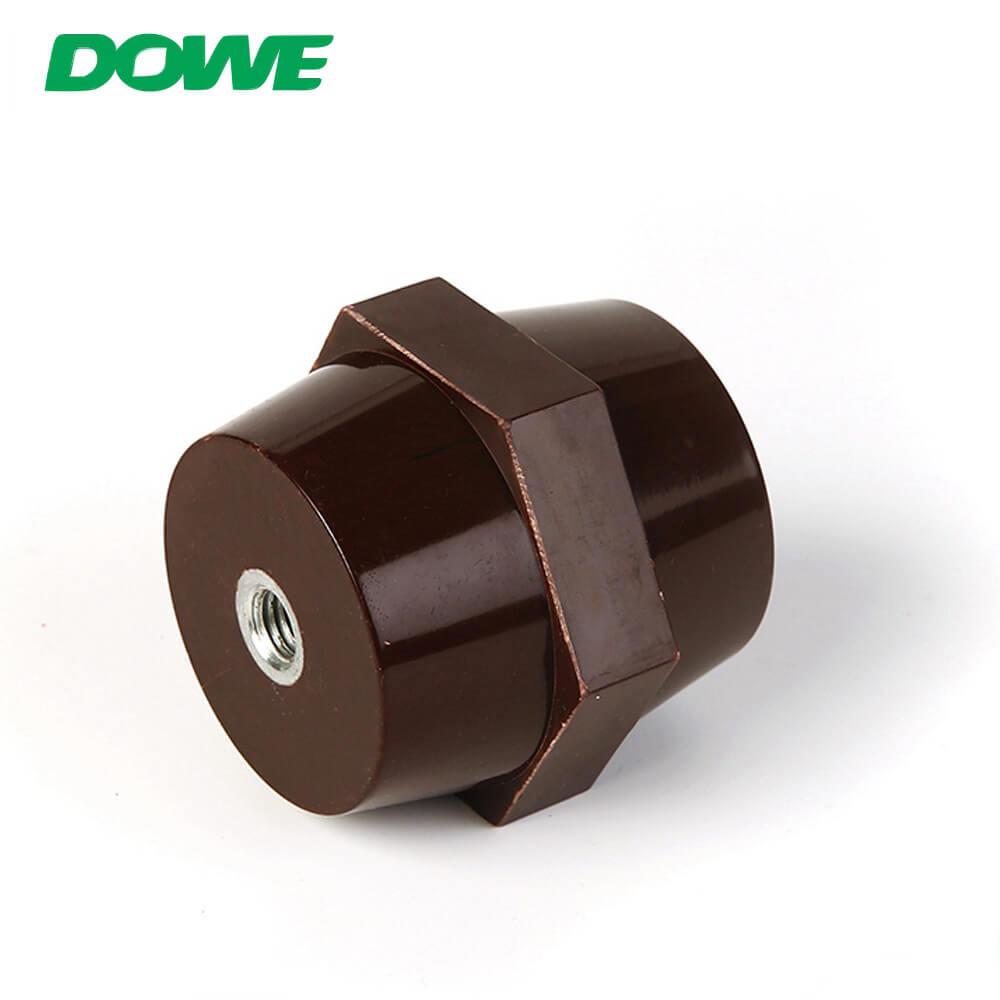 Aisladores de alto voltaje de resina epoxi Aislador de plástico eléctrico SEP6060 Aislador de barra colectora al por mayor