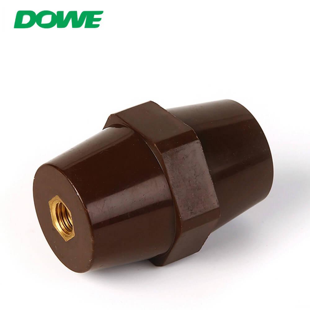 Aislador de buje Aislador de barra colectora de bajo voltaje eléctrico SEP6541 Barra colectora de separación hexagonal