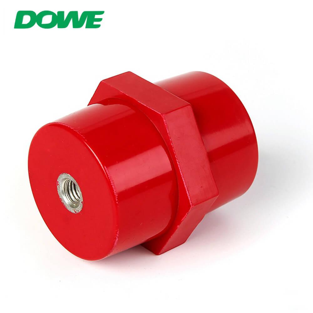 Aislador de alto voltaje Barra de distribución eléctrica SEP7060 Fábrica de soporte de aislamiento de barra de distribución hexagonal