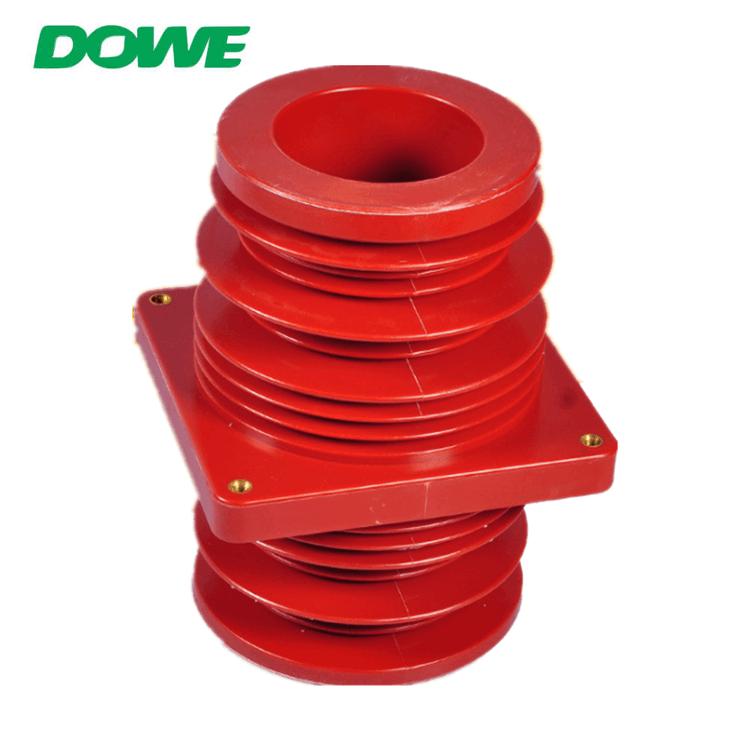 Transformador de aislamiento de buje de aparamenta de resina epoxi de aislamiento de alto voltaje 35kv para gabinete