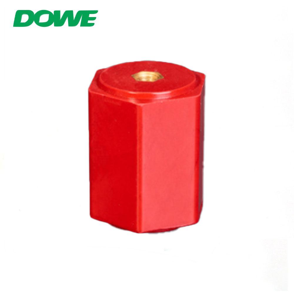 DOWE EN60 Aislador de barra colectora eléctrica Aislador de Comosites Soporte de espaciado termoplástico