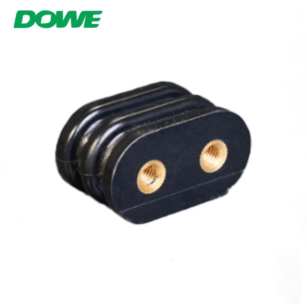 Aislador eléctrico de barra colectora de colores cilíndrico 45x25 serie DOWE SE