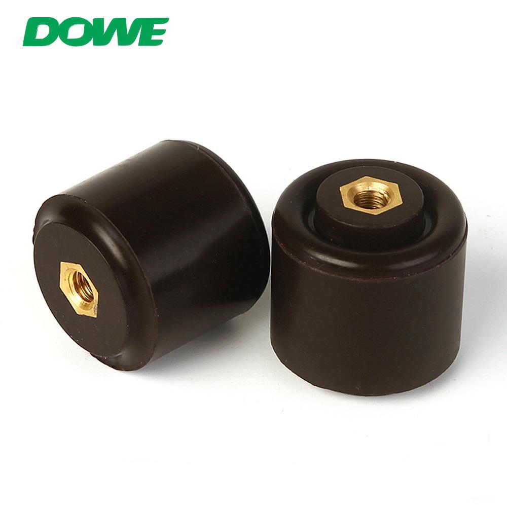 Soporte aislante de porcelana DOWE 6KV 30x30 para aisladores de bajo voltaje de energía eléctrica