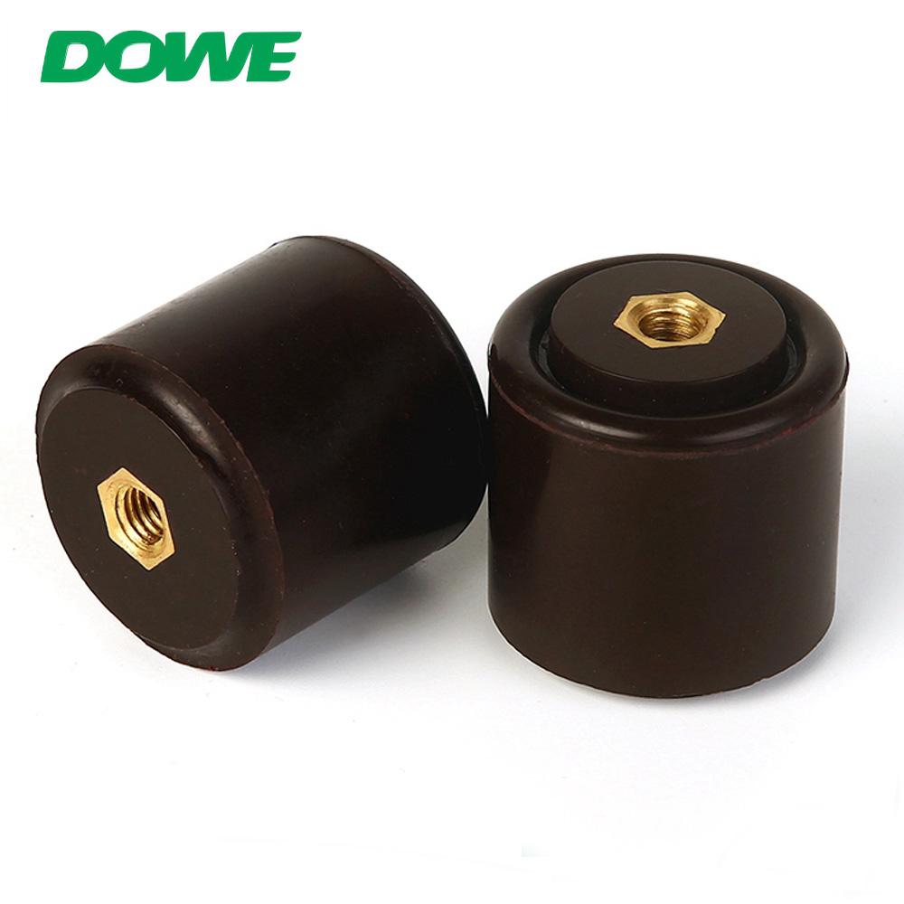 YUEQING DOWE Diferentes tipos de aluminio 40x40 Soporte aislante cilíndrico contra incendios